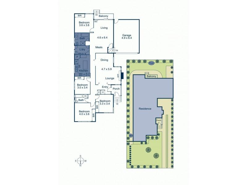82 Bath Road, Glen Iris VIC 3146 Floorplan