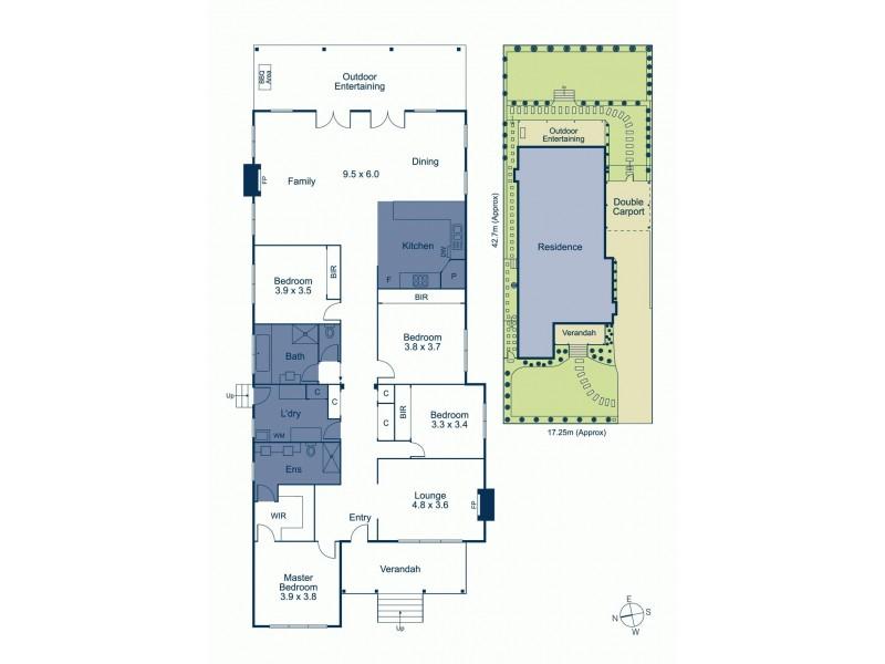 20 Vannam Drive, Ashwood VIC 3147 Floorplan