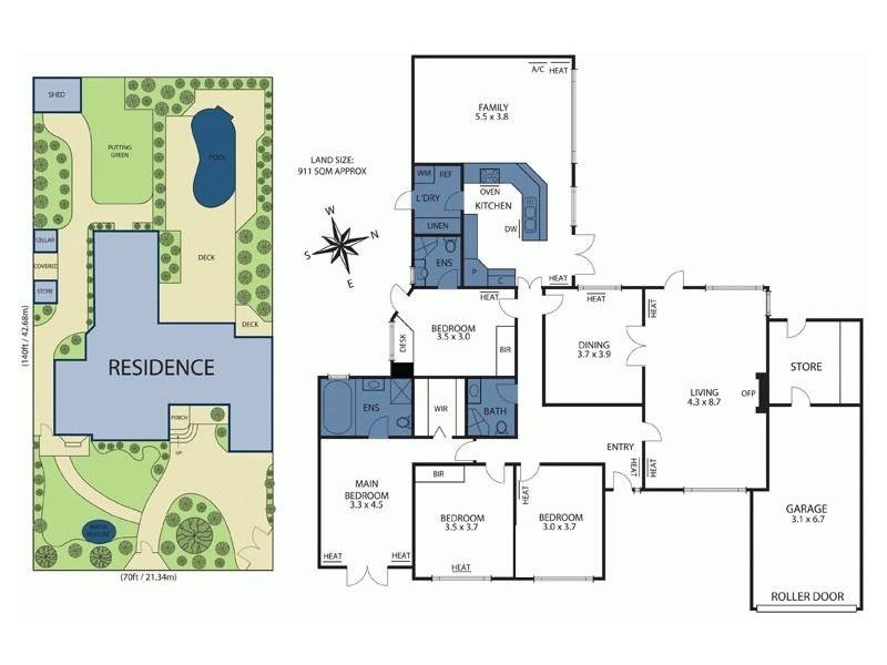 118 Summerhill Road, Glen Iris VIC 3146 Floorplan