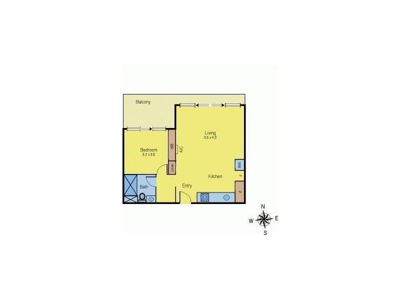213/770C Toorak Road, Glen Iris VIC 3146 Floorplan