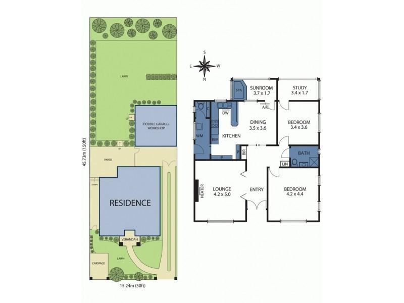 4 York Road, Glen Iris VIC 3146 Floorplan