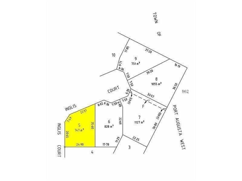 Lot 5 Lot 5 Inglis Court – Inglis Estate, Port Augusta West SA 5700