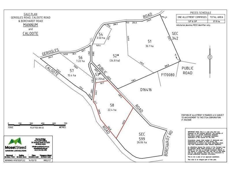 Lot 58 'Reedy Creek Rise' Caloote Road, Caloote SA 5254
