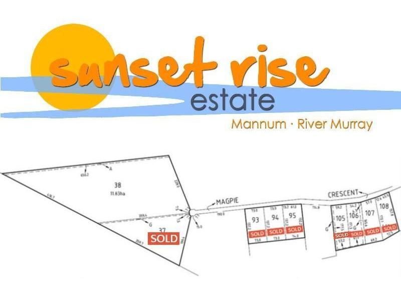 Stage 5 'Sunset Rise Estate' Magpie Crescent, Mannum SA 5238
