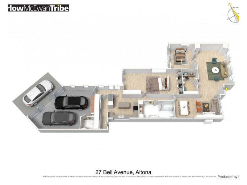 27 Bell Avenue, Altona VIC 3018 Floorplan