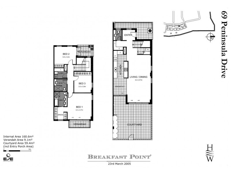 69 Peninsula Drive, Breakfast Point NSW 2137 Floorplan