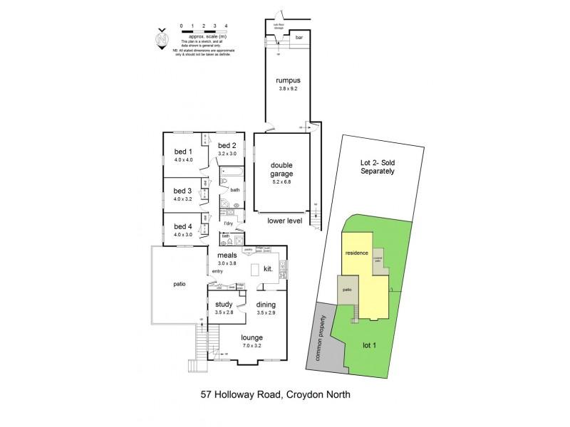 57 Holloway Road, Croydon North VIC 3136 Floorplan