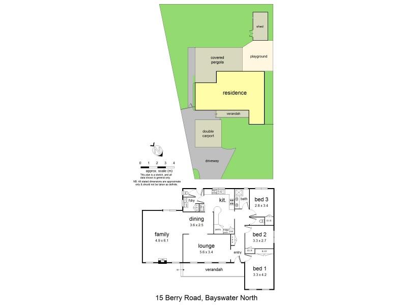 15 Berry Road, Bayswater North VIC 3153 Floorplan