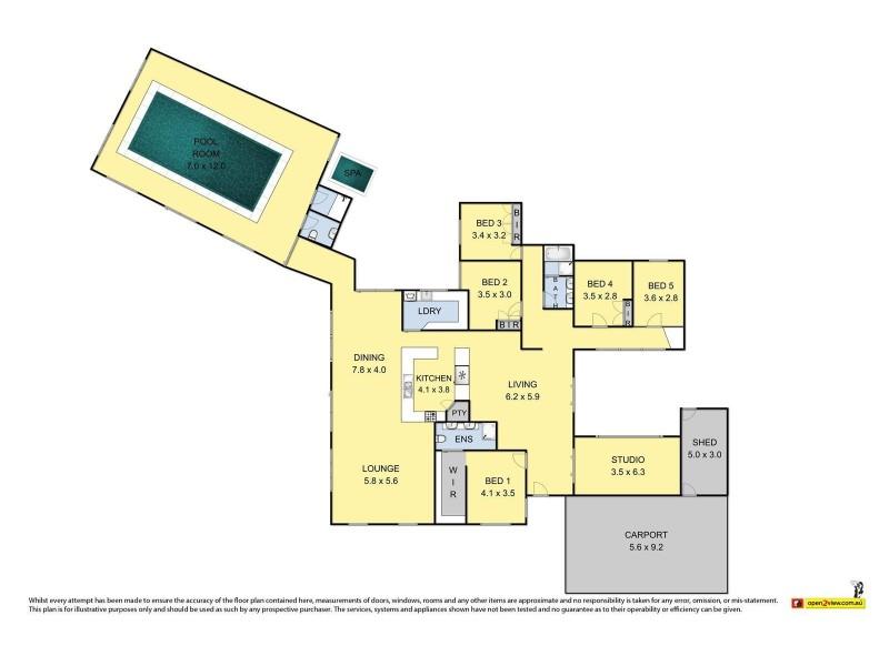 14-16 Maher Court, Werribee VIC 3030 Floorplan