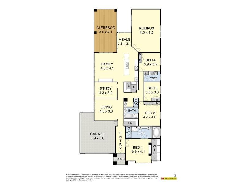 13 Yankos Drive, Werribee VIC 3030 Floorplan