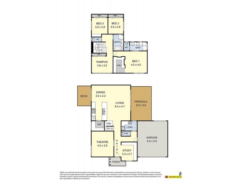 1 Trish Walk, Werribee VIC 3030 Floorplan