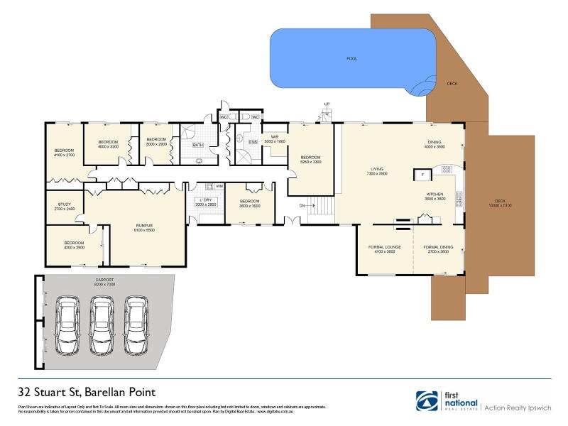 32 Stuart Street, Barellan Point QLD 4306 Floorplan