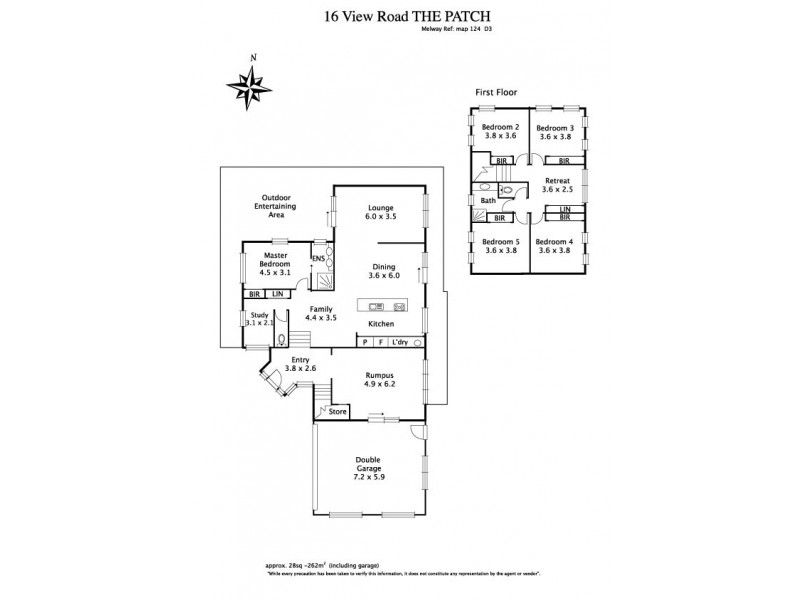 16 View Road, The Patch VIC 3792 Floorplan