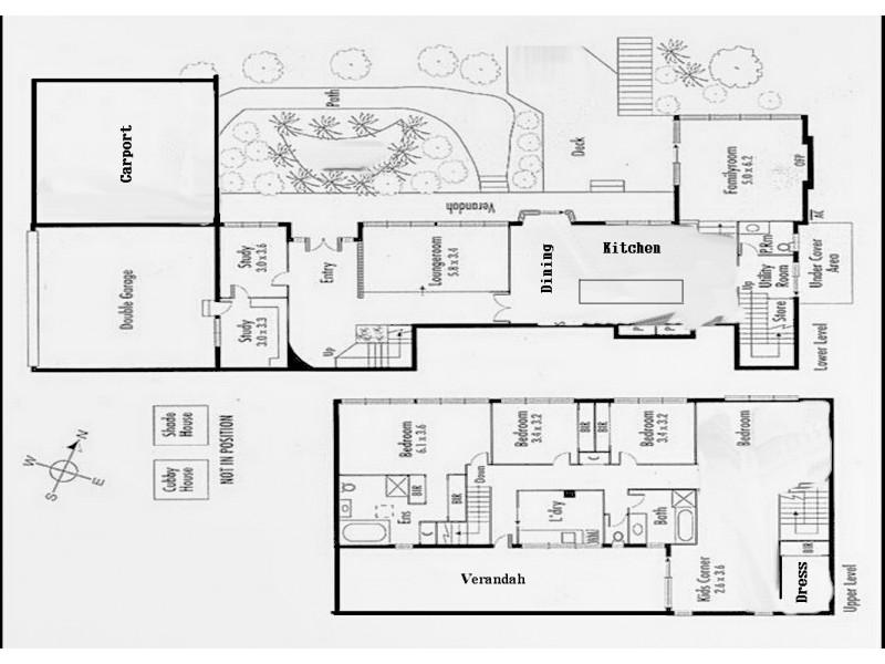 92 Kallista-Emerald Road, The Patch VIC 3792 Floorplan