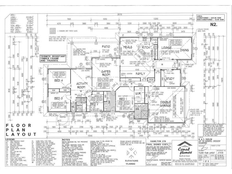 7 Cockatiel Crescent, Gulmarrad NSW 2463 Floorplan