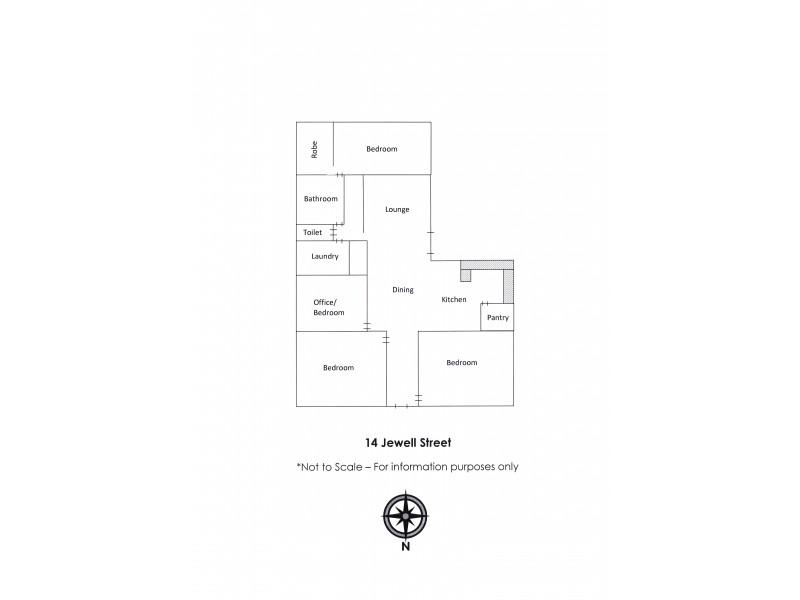 14 Jewell Street, Mundulla SA 5270 Floorplan
