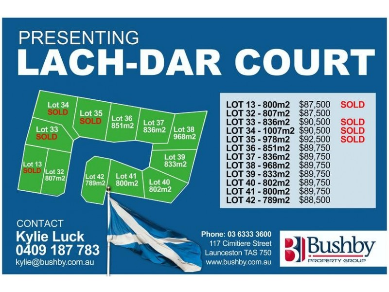 Lot 41,  Lach-Dar Court, Longford TAS 7301