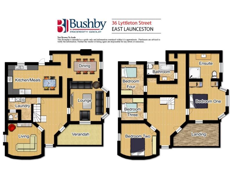 36 Lyttleton Street, East Launceston TAS 7250 Floorplan