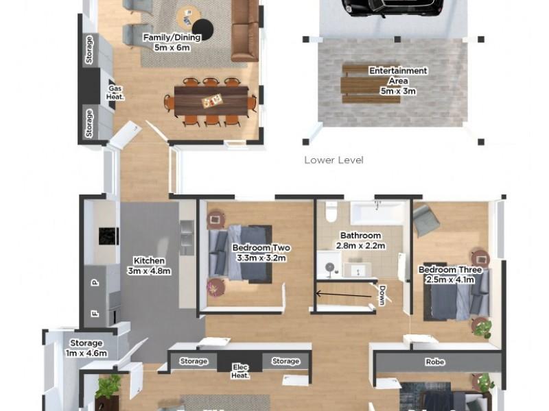 72 Wentworth Street, Newstead TAS 7250 Floorplan