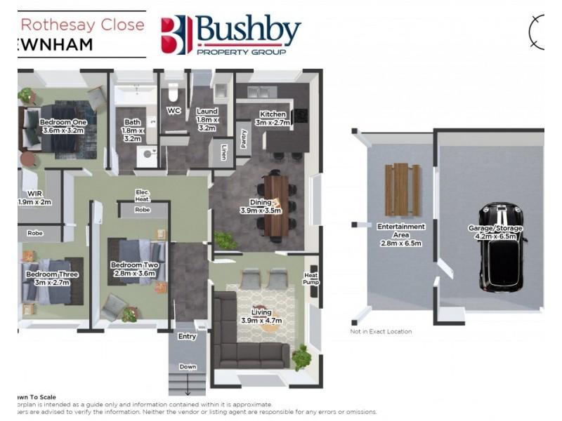 39 Rothesay Close, Newnham TAS 7248 Floorplan