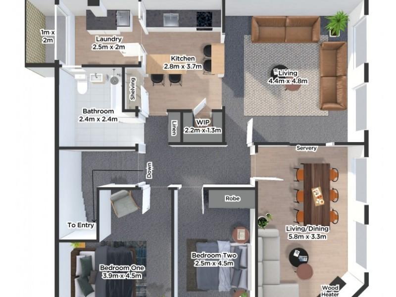4/162-166 Charles Street, Launceston TAS 7250 Floorplan
