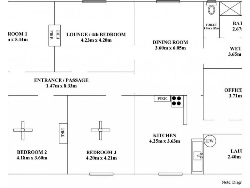 38 Fourth Street, Ardrossan SA 5571 Floorplan