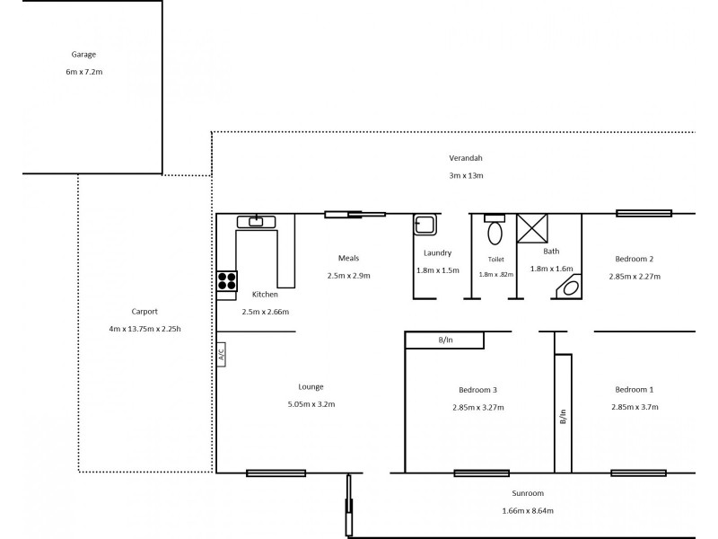 75 High Street, Ardrossan SA 5571 Floorplan