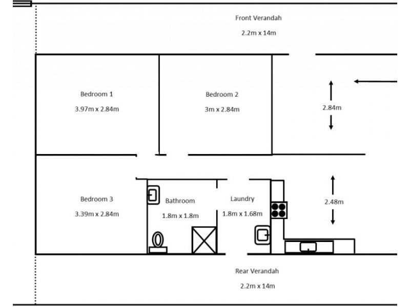 8 Cornwall Street, Port Clinton SA 5570 Floorplan