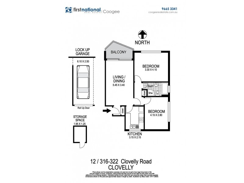 12/316-322 Clovelly Road, Clovelly NSW 2031 Floorplan