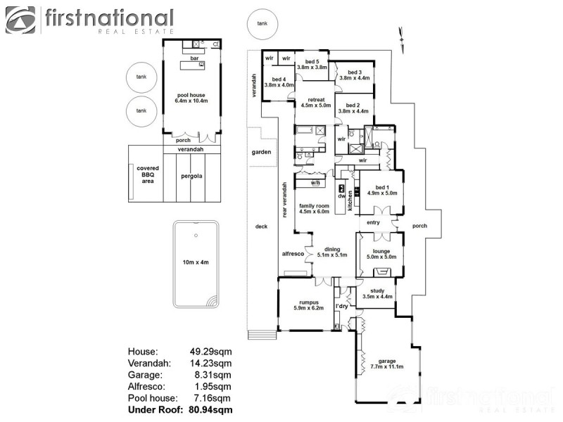 10 Connassidy Close, Beaconsfield VIC 3807 Floorplan