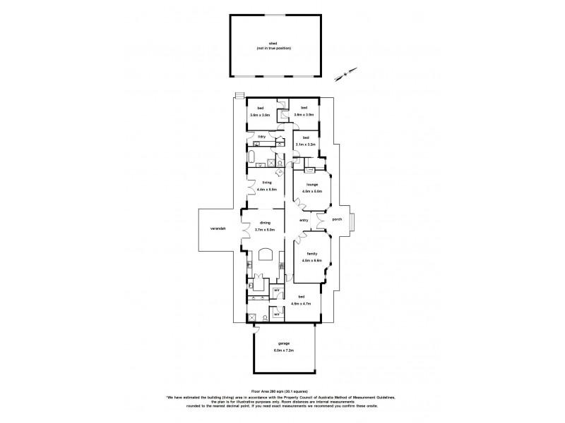50 Parish Rd, Iona VIC 3815 Floorplan