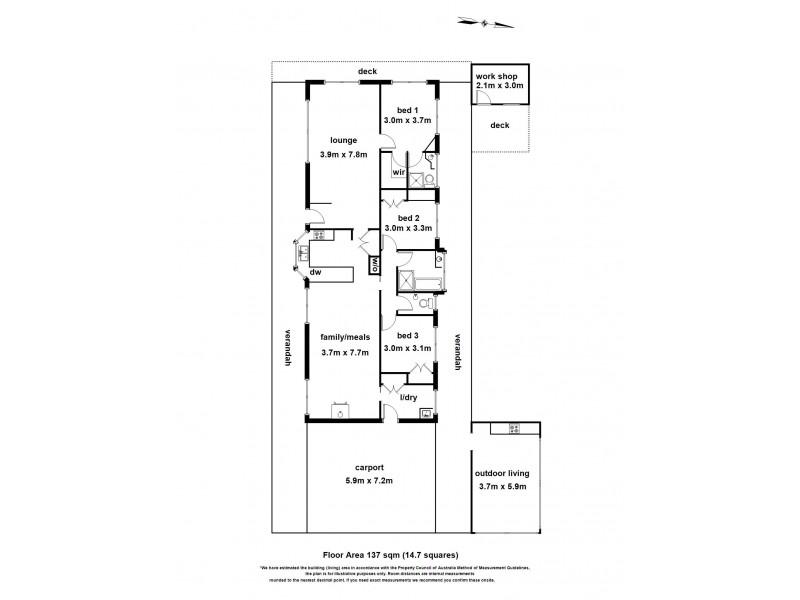 95 Mortimer Road, Maryknoll VIC 3812 Floorplan