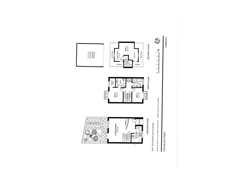2/365 Miller Street, Cammeray NSW 2062 Floorplan