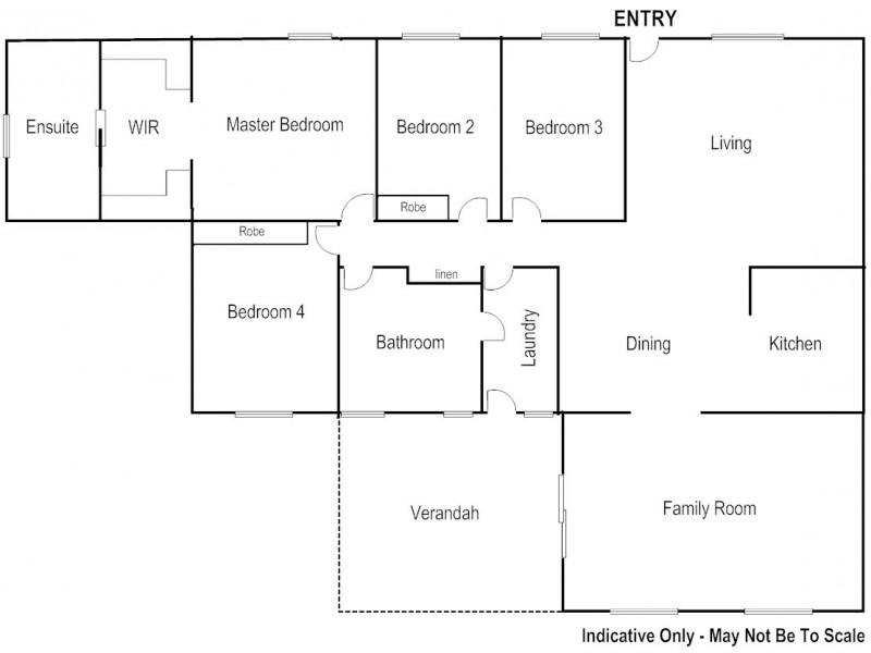 13 IRVINE CRESCENT, Araluen NT 0870 Floorplan
