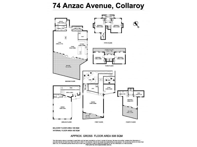74 Anzac Avenue, Collaroy NSW 2097 Floorplan