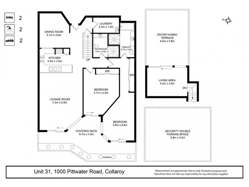 31/1000 Pittwater Road, Collaroy NSW 2097 Floorplan