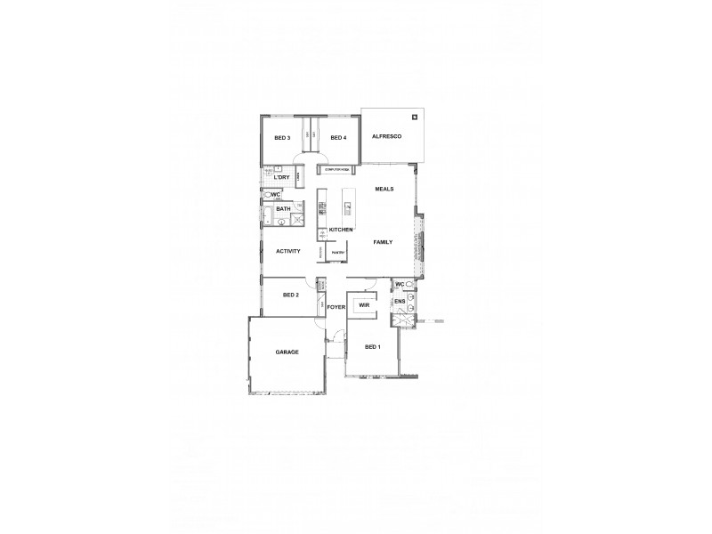 21 Solandri Bend, Banksia Grove WA 6031 Floorplan