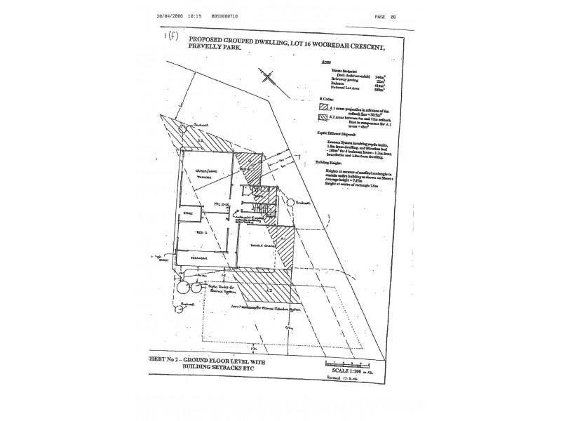16a Wooredah Crescent, Prevelly WA 6285 Floorplan