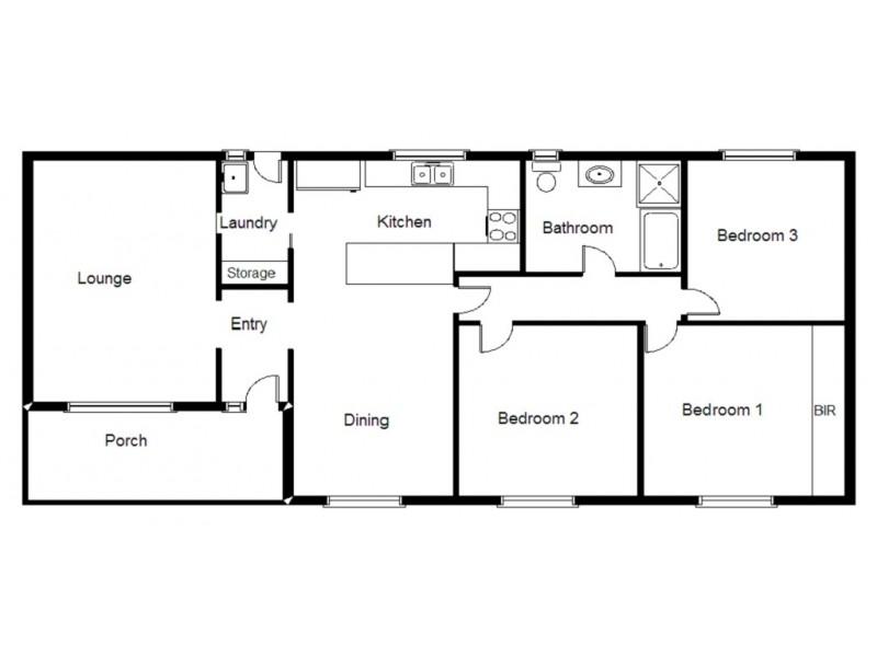 54 Butler Crescent, Port Augusta West SA 5700 Floorplan