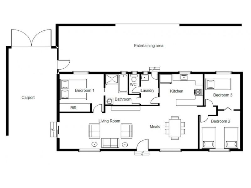 25 Kirwan Crescent, Port Augusta West SA 5700 Floorplan