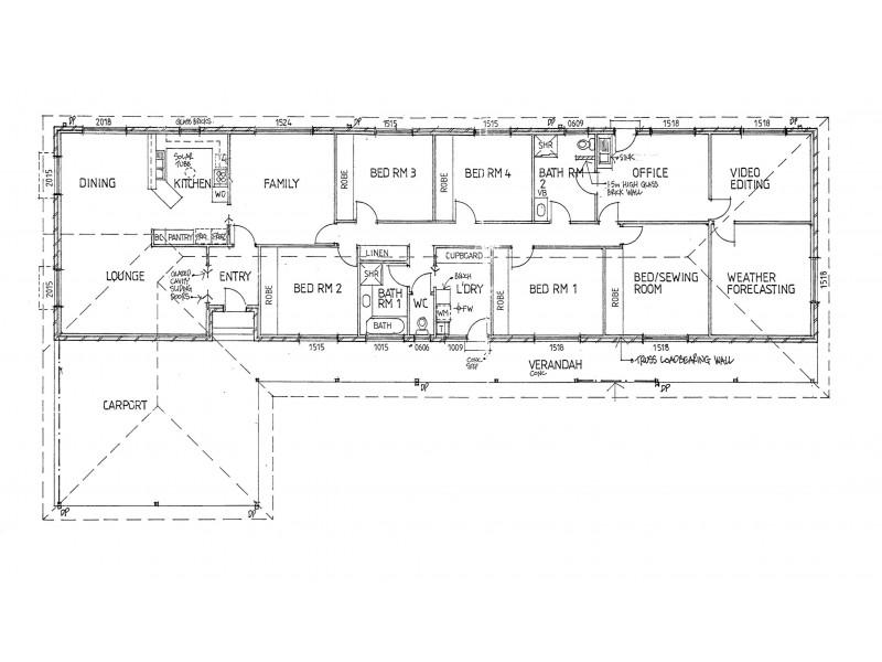 Wangaratta VIC 3677 Floorplan