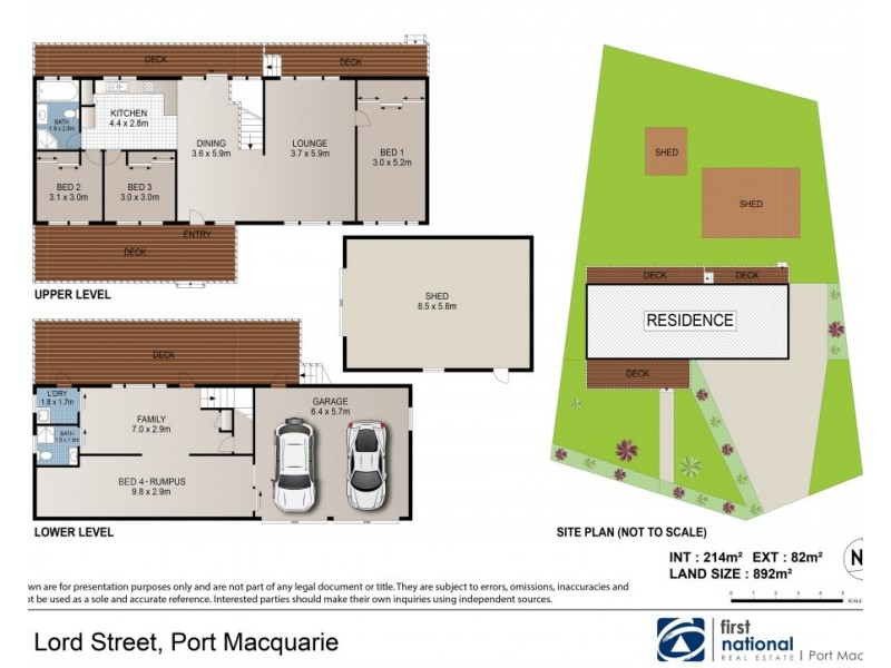 145 Lord Street, Port Macquarie NSW 2444 Floorplan