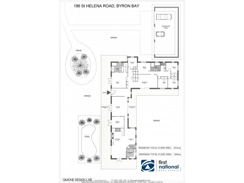 186 St Helena Road, Mcleods Shoot NSW 2479 Floorplan