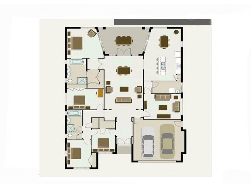 9 Brigid Boulevard, Augustine Heights QLD 4300 Floorplan