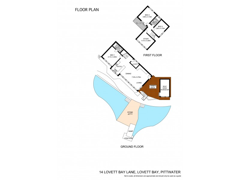 14 The Portions, Lovett Bay NSW 2105 Floorplan