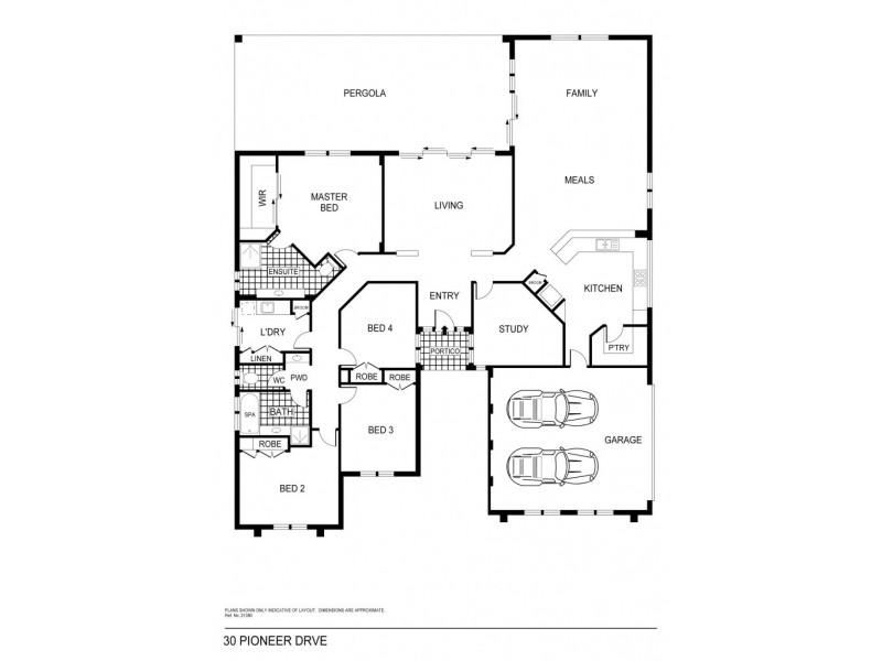 30 Pioneer Drive, Maiden Gully VIC 3551 Floorplan