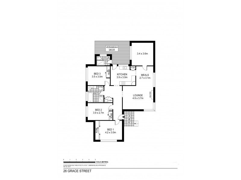 26 Grace Street, White Hills VIC 3550 Floorplan