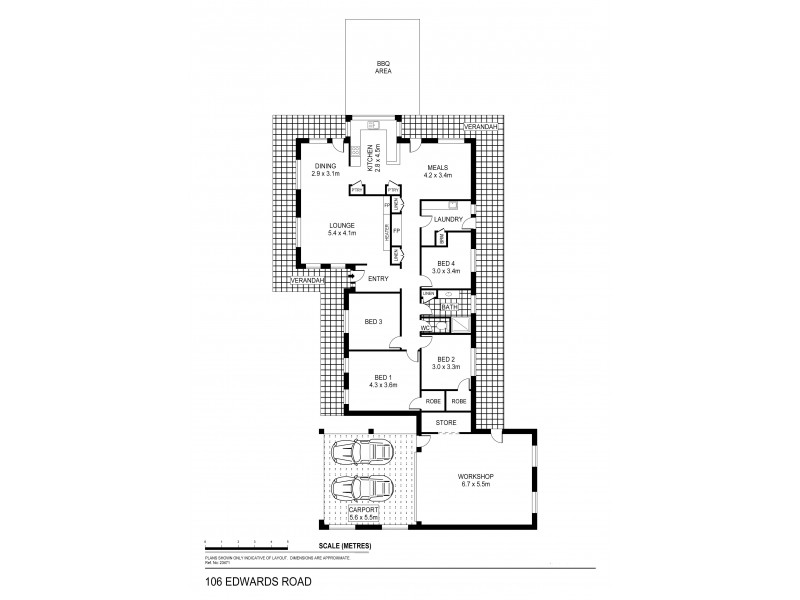 106 Edwards Road, Maiden Gully VIC 3551 Floorplan