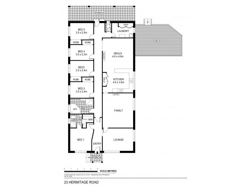 23 Hermitage Road, Maiden Gully VIC 3551 Floorplan