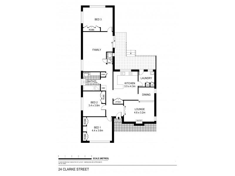 24 Clarke Street, Kennington VIC 3550 Floorplan